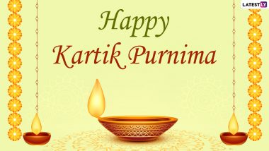 Kartik Purnima 2020 Greetings: WhatsApp Stickers, Dev Deepavali HD Images, Facebook Messages and Wishes to Send on the Significant Day