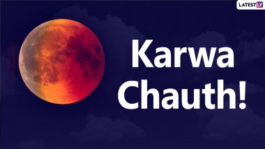 Karwa Chauth 2021 Chand Timings in Kolkata, Bhopal, Indore, Shimla, Ujjain: Know October 24 Moon Rise Time in These Cities