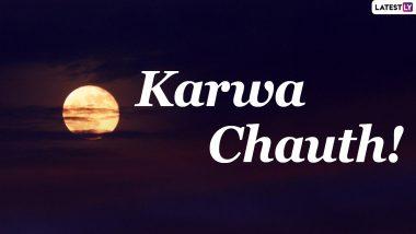 Karwa Chauth 2020 Moon Sighting Time Today in US States of Florida, New York, California, Chicago and Washington: Get Chandra Darshan Timings and Karva Chauth Vrat Puja Shubh Muhurat to Break Fast