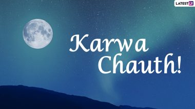 Karwa Chauth 2021 Moonrise Time Today in the US States: Get Chandra Darshan Timings and Karva Chauth Vrat Puja Shubh Muhurat in Texas, New Jersey & New York City