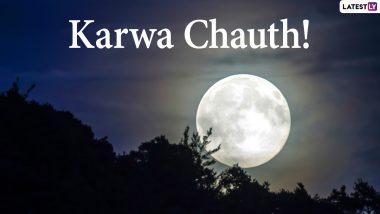 Karwa Chauth 2020 Moonrise Time Today in Australia and New Zealand: Moon Sighted in Australia & New Zealand