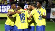 Kerala Blasters vs FC Goa, ISL 2020–21 Live Streaming on Disney+Hotstar: Watch Free Telecast of KBFC vs FCG in Indian Super League 7 on TV and Online