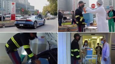 Speed Delivery! Italian Police Use Lamborghini to Deliver Kidney Within Two Hours in Life-Saving Surgery