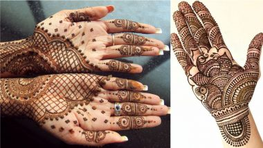 Latest Tulsi Vivah 2020 Mehndi Designs for Hands: Easy Yet Elegant Arabic Mehendi Patterns and Indian Henna Designs to Celebrate Dev Uthani Ekadashi Gyaras