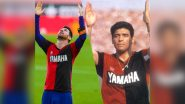 Lionel Messi Reacts to His Tribute for Diego Maradona During Barcelona vs Osasuna La Liga 2020–21 Match, Bids 'Goodbye' to Late Football Great!
