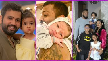 Happy Children's Day Wishes: IPL 2020 Winners Mumbai Indians Post Cute Pics of Its Players and Their Kids