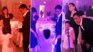 MS Dhoni Dancing and Partying With Wife Sakshi and Daughter Ziva; CSK Shares Rare Video of Captain Cool Making Moves on the Dance Floor!