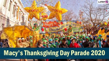 Macy's Thanksgiving Day Parade 2020 Live Streaming Online: 94th Edition of the Iconic Event Goes Virtual Due to COVID-19 Pandemic, Here's How to Watch the Parade From Home