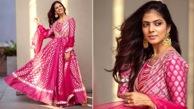 Malavika Mohanan's Feisty Festive Pink Is Immensely Lust Worthy!