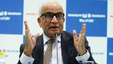 India Can Be Lower Cost Producer Than China If Industry and Government Work Together, Says Maruti Suzuki Chairman RC Bhargava