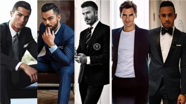 Cristiano Ronaldo, Virat Kohli, Roger Federer, Lewis Hamilton and David Beckham – 5 Style Icons Fans Cannot Get Enough of This International Men's Day 2020 (View HD Pics)