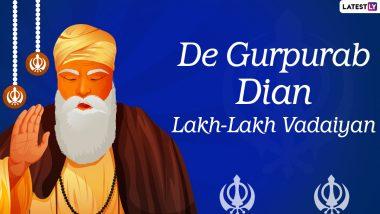 Guru Nanak Jayanti 2020 Punjabi Wishes & Gurpurab Di Lakh Lakh Vadhai Greetings: WhatsApp Stickers, GIFs, Quotes and Messages to Send To Your Loved Ones on 551st Parkash Utsav