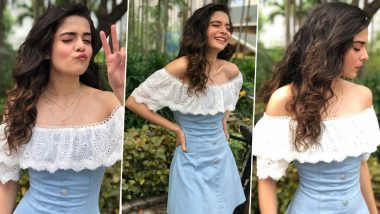 Mithila Palkar Is Giving the Good Old Denim Dress a Chic Update!