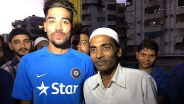 Mohammed Siraj Vows To Fulfil His Late Father's Last Wish of Making India Proud, Says 'I Lost the Biggest Support of My Life'