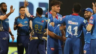 How to Watch Mumbai Indians vs Delhi Capitals IPL 2020 Final Live Streaming Online in India? Get Free Live Telecast of MI vs DC Dream11 Indian Premier League Cricket Match Score Updates on TV
