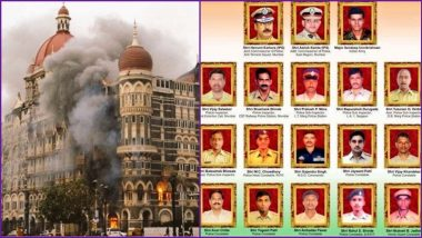 26/11 Mumbai Terror Attacks Remembrance Messages Take Over Twitter: Netizens Pay Tributes to All Martyrs and Innocent People Who Lost Their Lives With 'Never Forget' Tweets