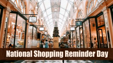 National Shopping Reminder Day 2020 Date: Know About This Fun Observance Which Serves a Reminder to Go Holiday Shopping