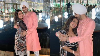 Newlyweds Neha Kakkar and Rohanpreet Singh Ring in Their First Diwali Together, Share Stunning Pics From Dubai!