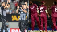 NZ vs WI Dream11 Team Prediction: Tips to Pick Best Fantasy Playing XI for New Zealand vs West Indies 3rd T20I 2020