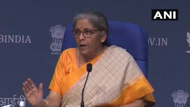 Indian Economy Witnessing Strong Recovery After a Long and Strict Lockdown, Says FM Nirmala Sitharaman