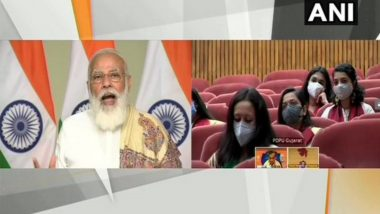 PM Narendra Modi Encourages Students, Says Ample Opportunities Available for Entrepreneurship, Employment Amid Pandemic