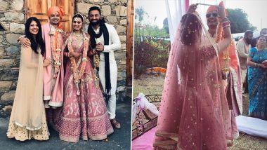 Mirzapur 2 Star Priyanshu Painyuli and Vandana Joshi Get Married in Dehradun (View Pics and Videos)