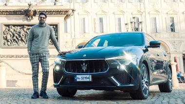 Prabhas' Picture Posing With A Swanky Maserati From The Sets Of Radhe Shyam Goes Viral!