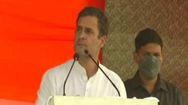 Bihar Assembly Elections 2020: Rahul Gandhi Promises 'Naya Bihar' by Reducing Electricity Tariff by Half Ahead of Final-Phase Polling
