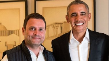 Barack Obama Mentions Rahul Gandhi in His Memoir, Writes 'Congress Leader Lacks Aptitude and Passion to Master the Subject'