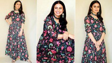 Rasika Dugal's Floral Affair, Oxidized Jewellery Glam Is Low Key Festive Perfect!