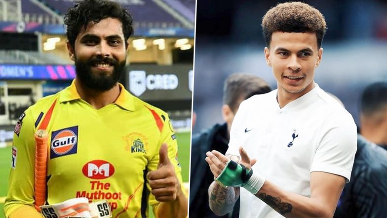 'Dele Alli's Sensational Catch Will Remind Fans of Ravindra Jadeja!' Tottenham Hotspur Share Video of Footballers Playing Cricket, Twitter React