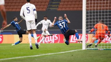 Real Madrid 2-0 Inter Milan, Champions League 2020-21 Match Result: Eden Hazard, Rodrygo Help Los Blancos Win Over 10-Man Milan