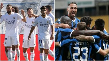 Inter Milan vs Real Madrid, UEFA Champions League Live Streaming Online: Where to Watch CL 2019–20 Group Stage Match Live Telecast on TV & Free Football Score Updates in Indian Time?