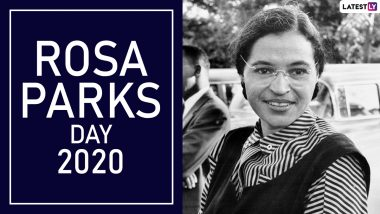 Rosa Parks Day 2020 Date, History and Significance: Here's What You Should Know About the Day Dedicated to Honour the American Civil Rights Leader