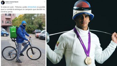 Ruben Limardo, 2012 Olympic Gold Medallist in Fencing, Turns Delivery Boy to Make Ends Meet During COVID-19 Pandemic