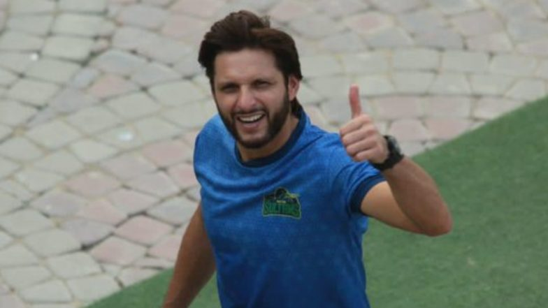 LPL 2020: Shahid Afridi Misses Flight to Sri Lanka, May Miss Galle Gladiators' First Match Against Jaffna Stallions