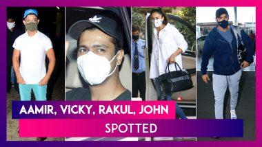 Aamir Khan & Daughter Ira Seen At A Theatre, Vicky Kaushal Is Happy To Be Back On Sets, Farhan Akhtar & Shibani Dandekar, Rakul Preet Singh, John Abraham & Kunal Kemmu Spotted