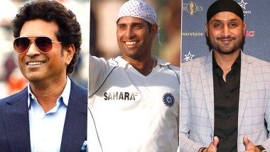 Happy Birthday VVS Laxman: Sachin Tendulkar, Harbhajan Singh & Yuvraj Singh Lead Cricket Fraternity in Wishing the Legendary Indian Batsman