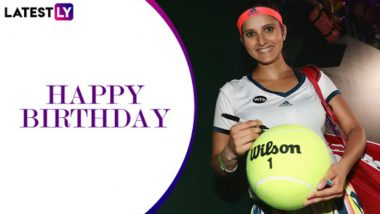 Sania Mirza Birthday Special: Interesting Facts About the Six-Time Grand Slam Winner