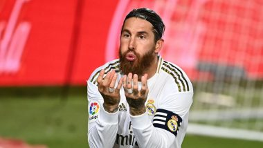 Sergio Ramos Scores 100 Goals for Real Madrid! Mesut Ozil Joins Twitterati in Lauding the Centre-Back for His Achievement