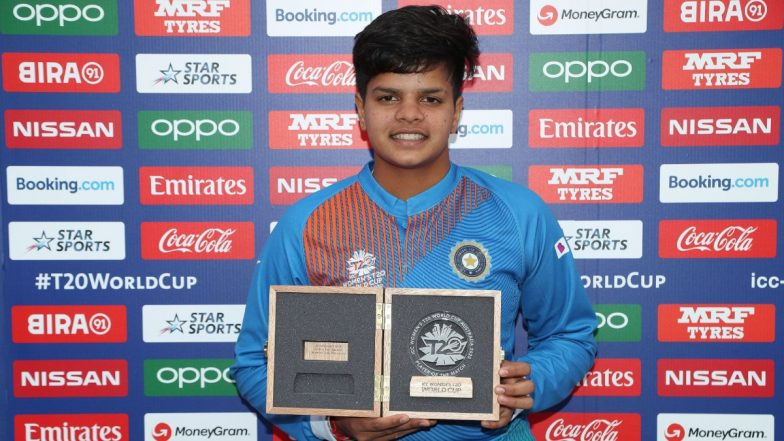 'Shafali Verma Is a Superstar at 16!' ICC Shares Feats of Young India Batswoman, Calls Her Shining Star (See Pic)