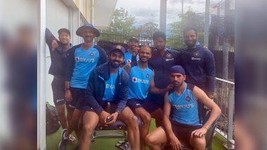 KL Rahul, Mayank Agarwal All Smiles in Shikhar Dhawan's 'Squad Goal' Post Ahead of India vs Australia ODI Series 2020