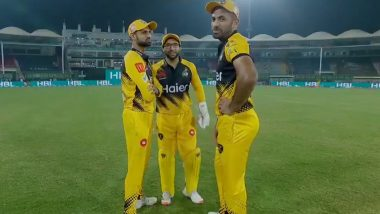 Imam-Ul-Haq, Wahab Riaz and Ramiz Raja Troll Mohammad Hafeez for Taking Unusual 'Loo Break' During Lahore Qalandars vs Peshawar Zalmi Eliminator Match in PSL 2020 (Watch Video)