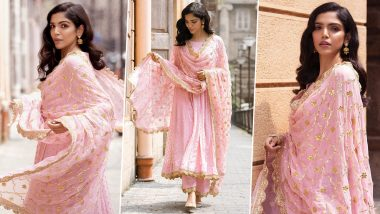 Shriya Pilgaonkar Is Reaffirming That Festive Fervour With Little Pink, Some Sparkle and a Dazzling Smile!