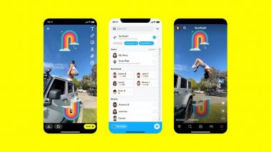 Snapchat's Spotlight Feature For Making Short Videos Launched in Select Countries to Take on TikTok
