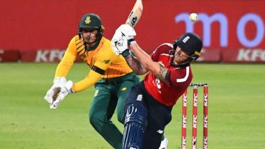 South Africa vs England 3rd T20I 2020 Live Streaming Online and Match Timings in India: Get SA vs ENG Free TV Channel and Live Telecast Details