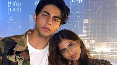 Suhana Khan Wishes Her 'Bestie' Aryan Khan on His 23rd Birthday With an Adorable Post (View Pic)