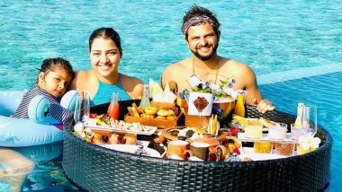 Suresh Raina Celebrates 34th Birthday With Wife Priyanka & Daughter Gracia in Maldives (View Pictures)