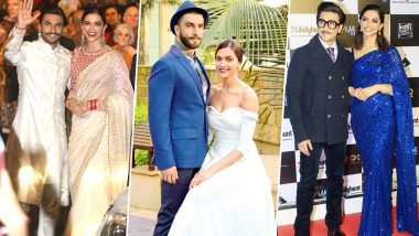 Happy Anniversary Deepika Padukone – Ranveer Singh! From Colour Coordination to Stealing Each Other's Clothes – 5 Times the Couple Gave Us Fashion Goals (View Pics)