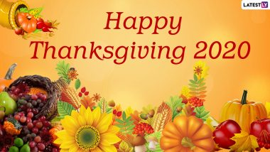 Happy Thanksgiving 2020 Wishes, WhatsApp Stickers & Messages to Send on the Holiday